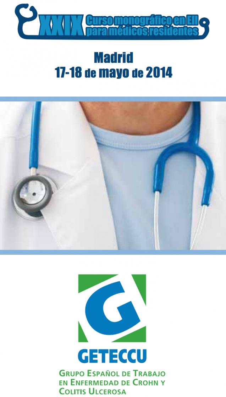 Curso monográfico para médicos residentes-GETECCU