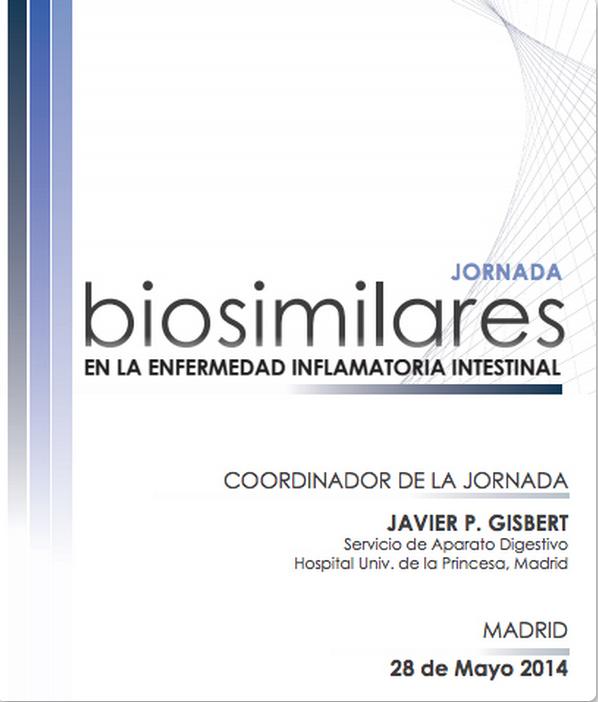 "Jornada ""Biosimilares en la enfermedad inflamatoria intestinal"""