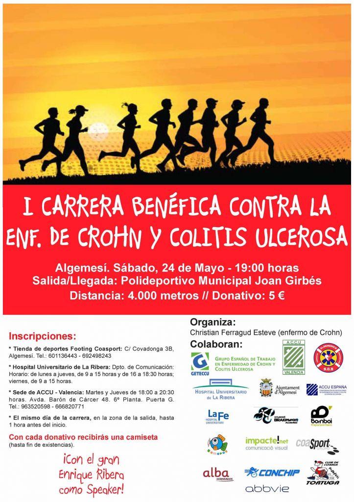 I Carrera contra Crohn y Colitis Ulcerosa
