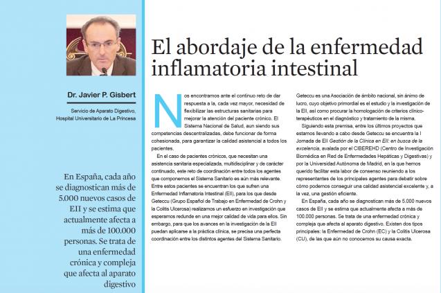 El abordaje de la EII-Entrevista Dr. Pérez Gisbert