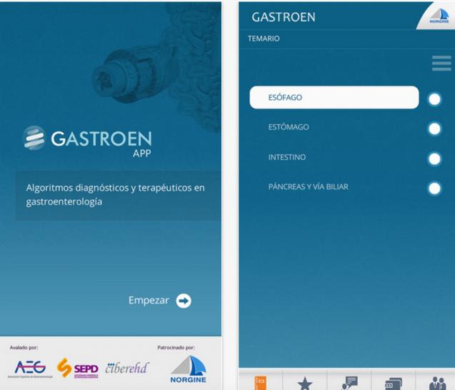 Aplicación «Gastroen» para la toma de decisiones clínicas
