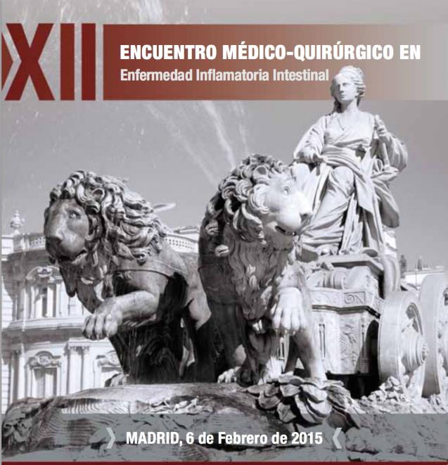 XII Encuentro médico-quirúrgico en EII: enfermedad de Crohn